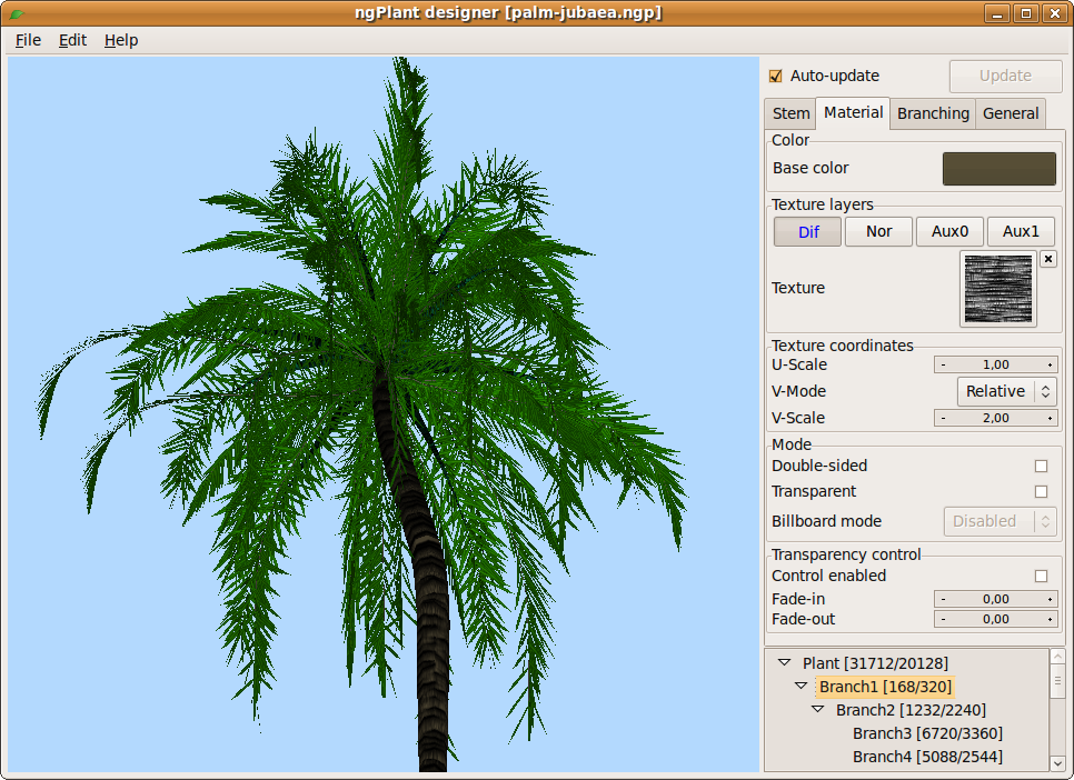 ngPlant - Open Source plant modeling suite